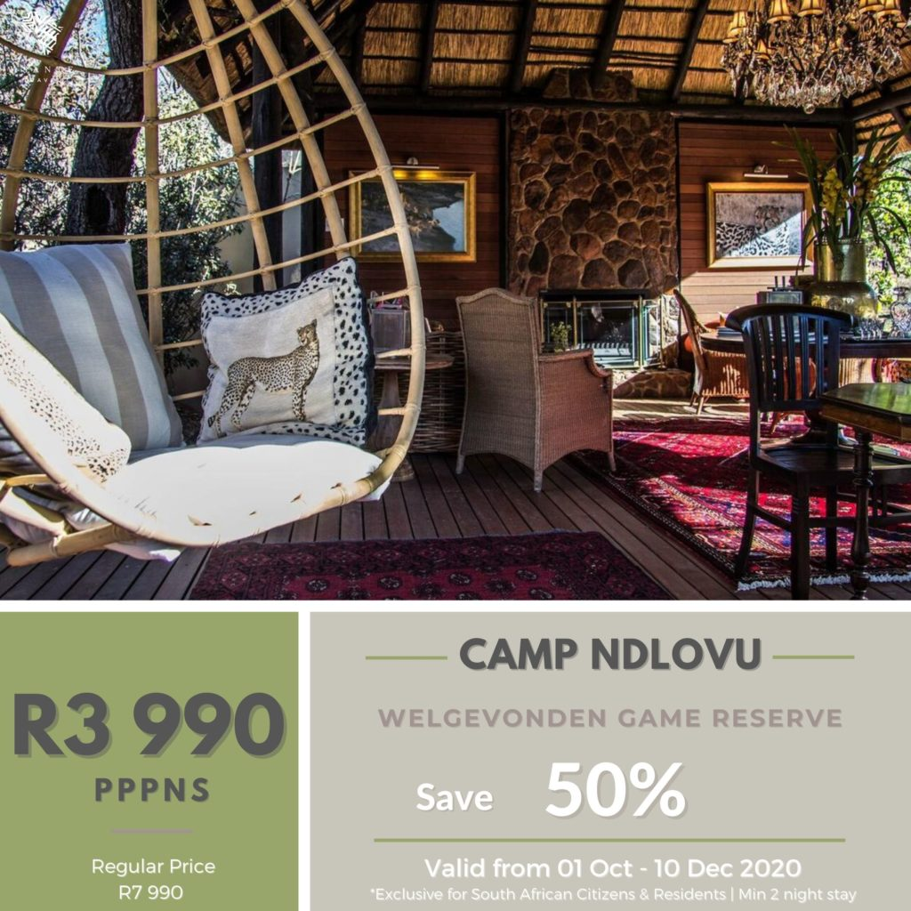 Camp Ndlovu Asante Travel