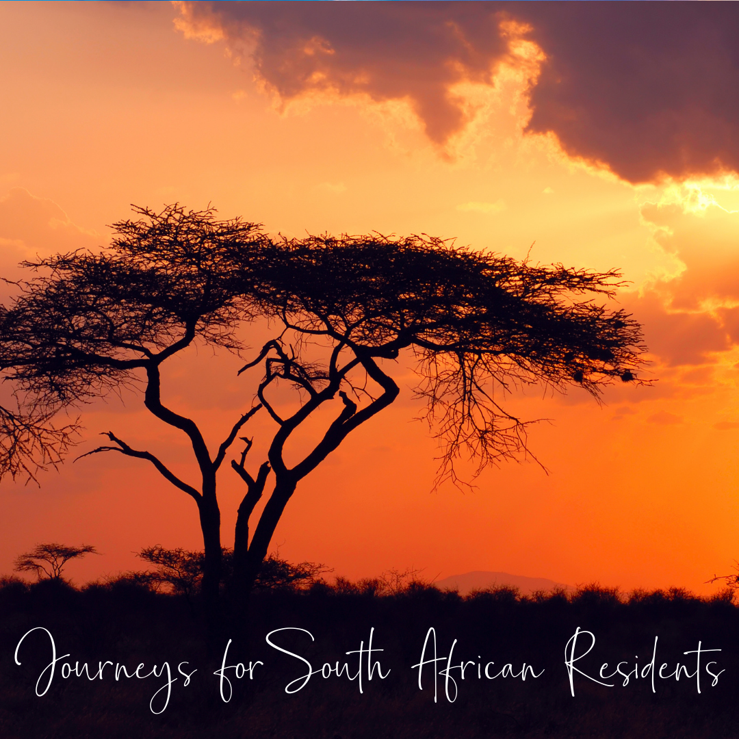 Journey for SA residents